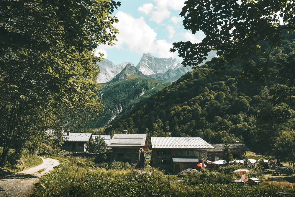 refuge du Laisonnay parc national de la Vanoise