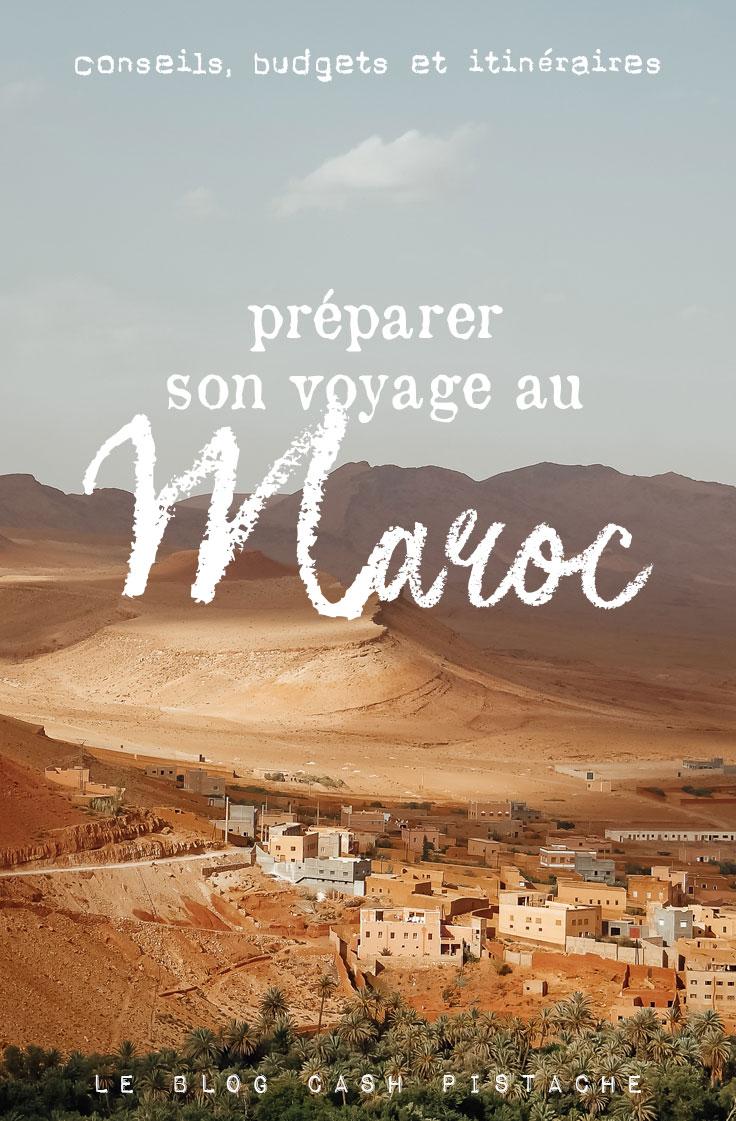 blog voyage préparer vacances Maroc