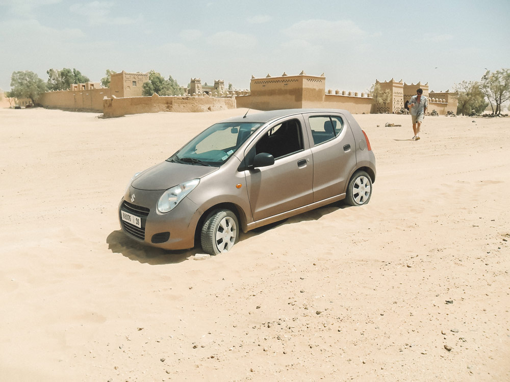 louer une voiture ou 4x4 au Maroc