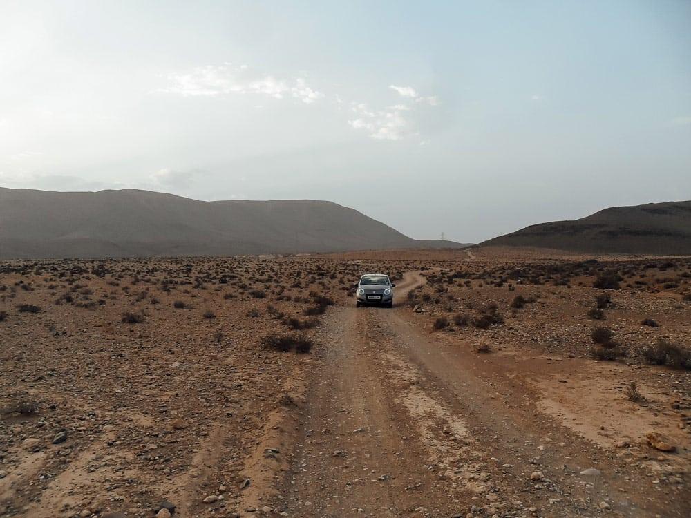 louer voiture Maroc risques routes