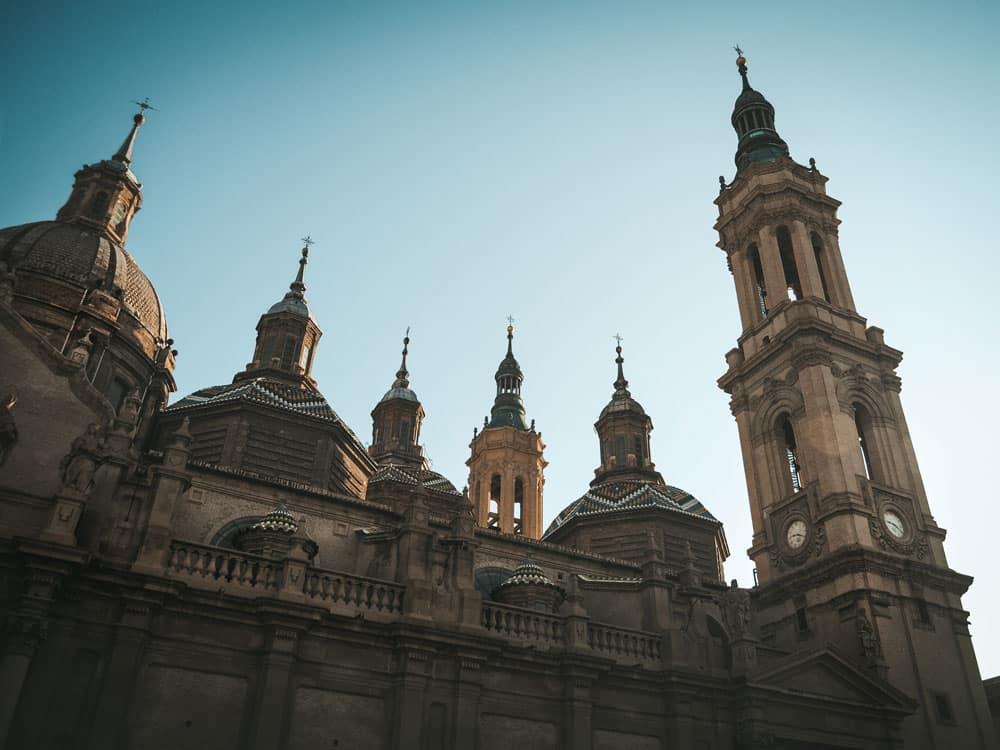 cathédrale Saragosse basilique du Pilar