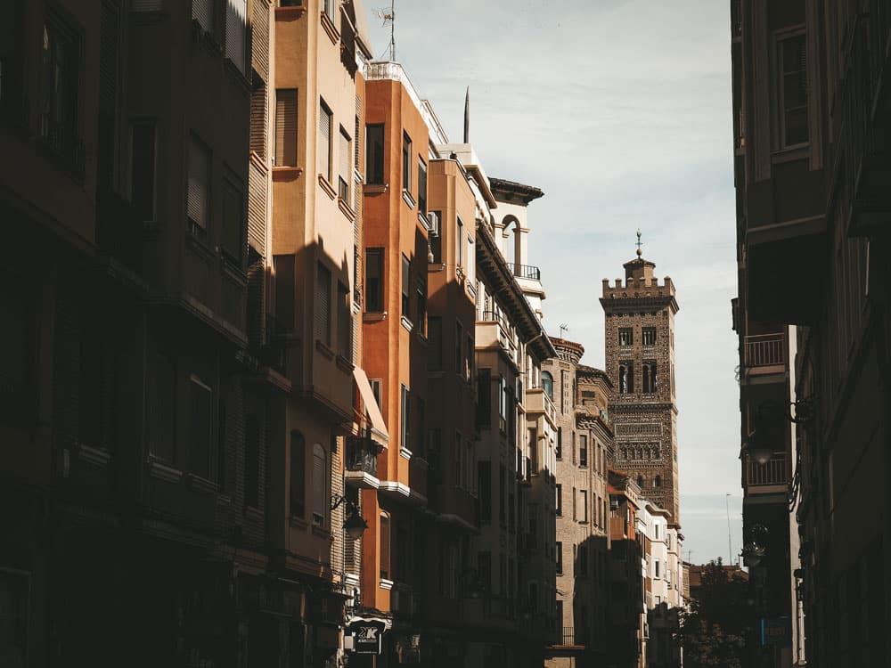 églises de Saragosse Espagne