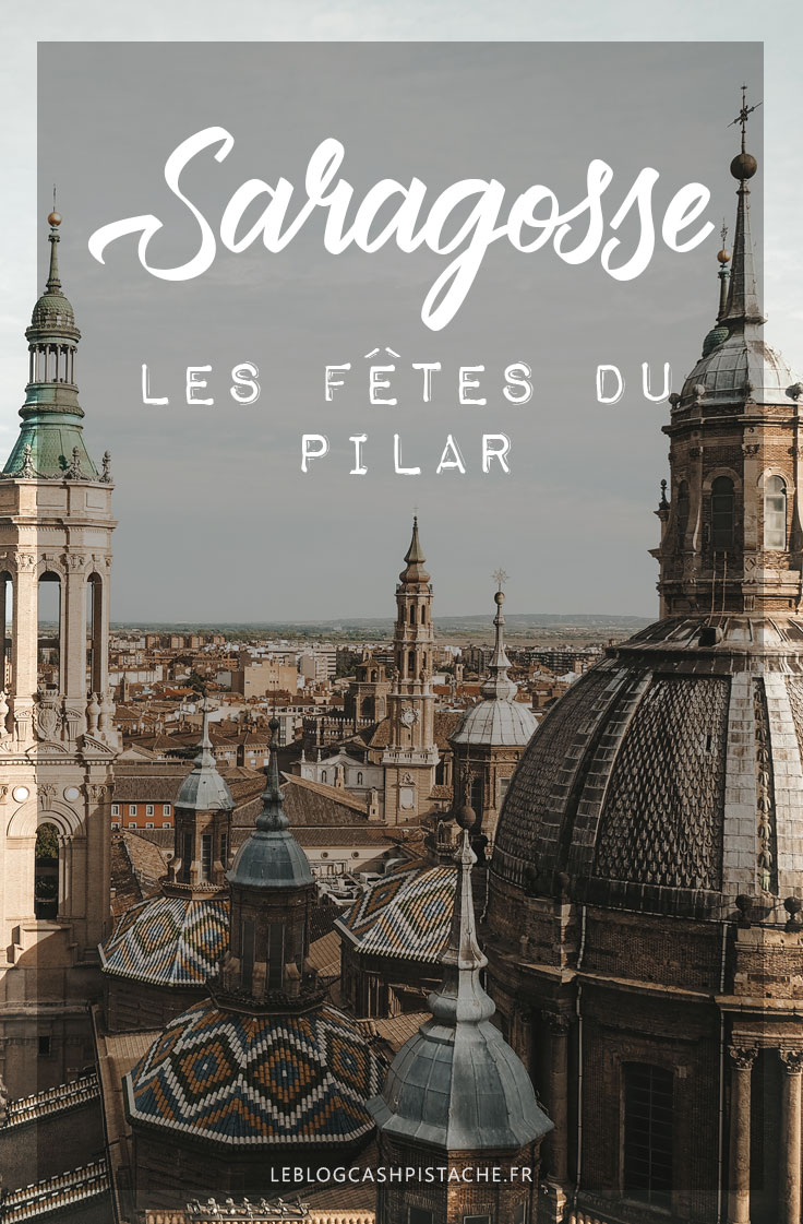 faire les fêtes du Pilar Saragosse