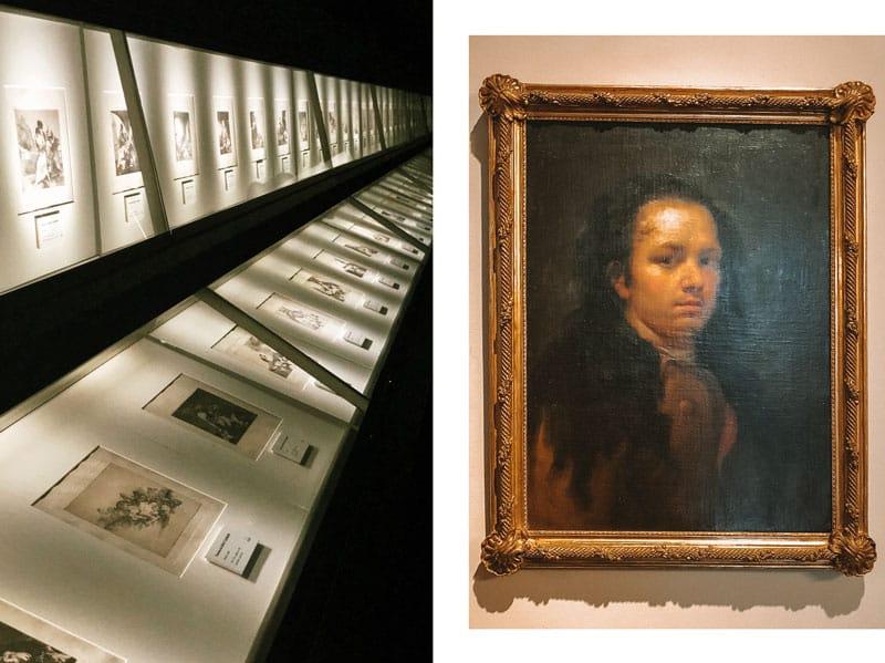 faire musée Goya Saragosse gravures