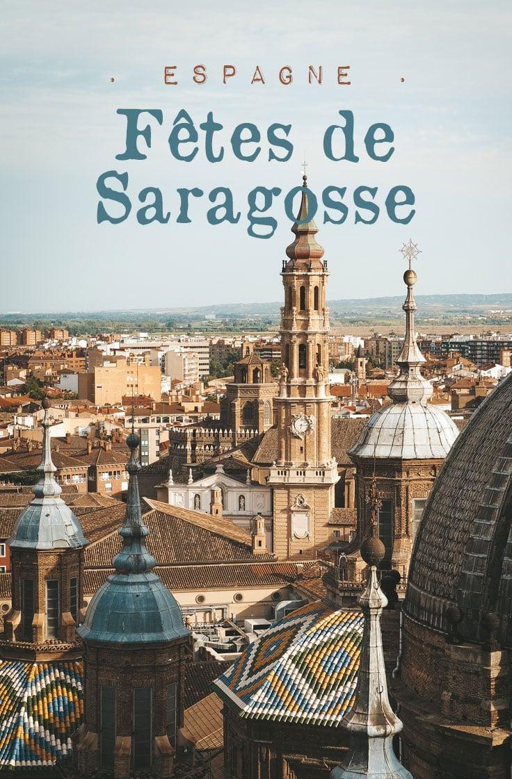 fêtes de Saragosse semaine Sainte