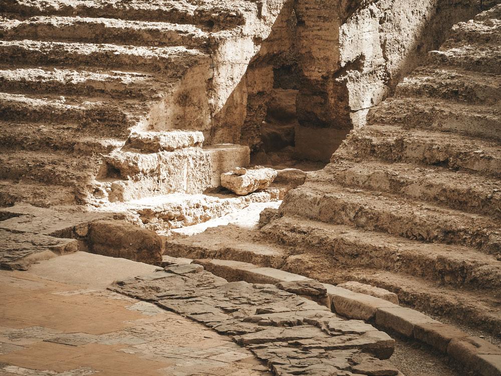forum ruines romaines Saragosse Espagne