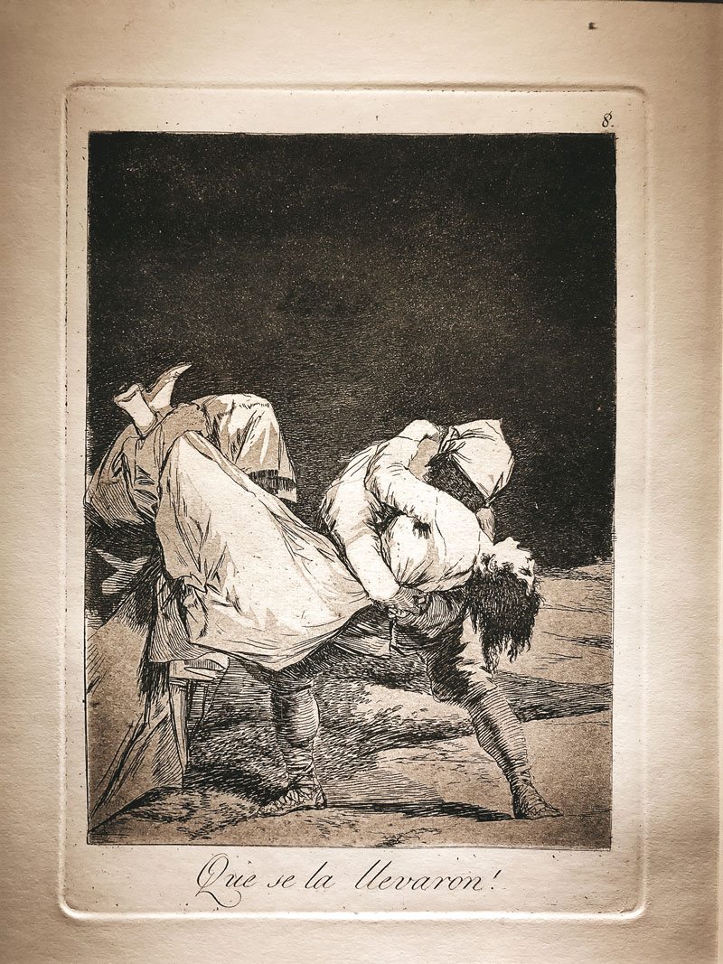 gravures Goya musée Saragosse