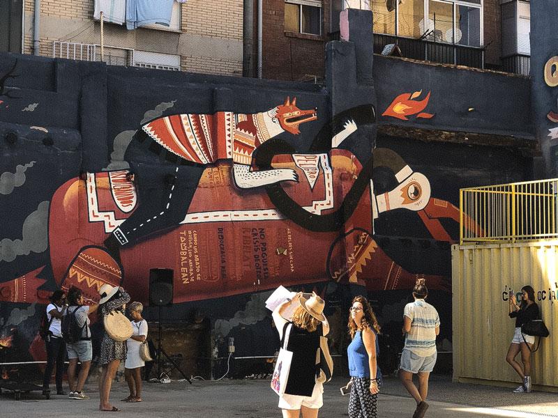 itinéraire Street Art Saragosse