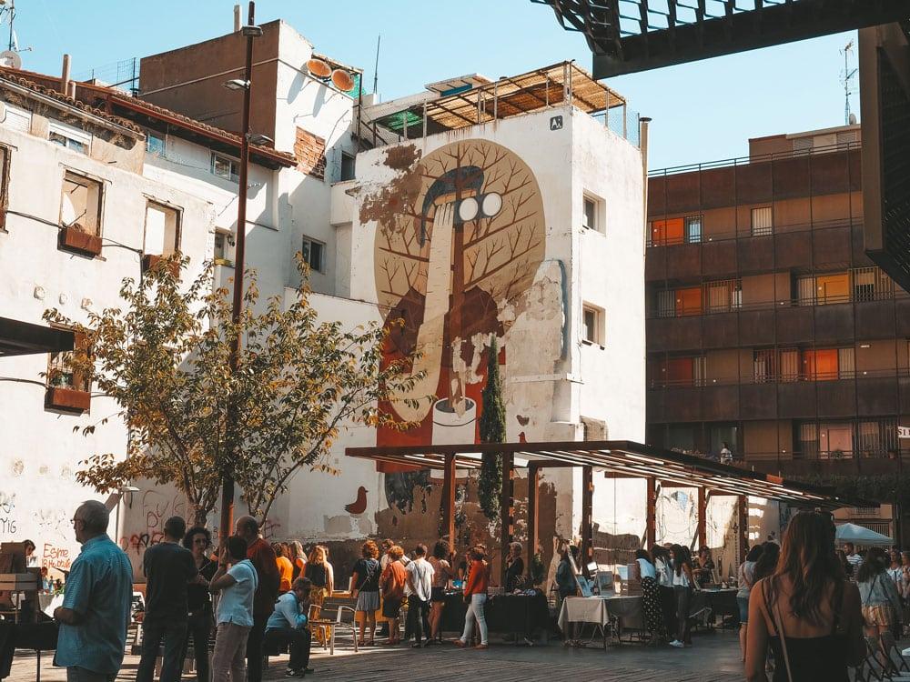 marché Las Armas quartier San Pablo Saragosse
