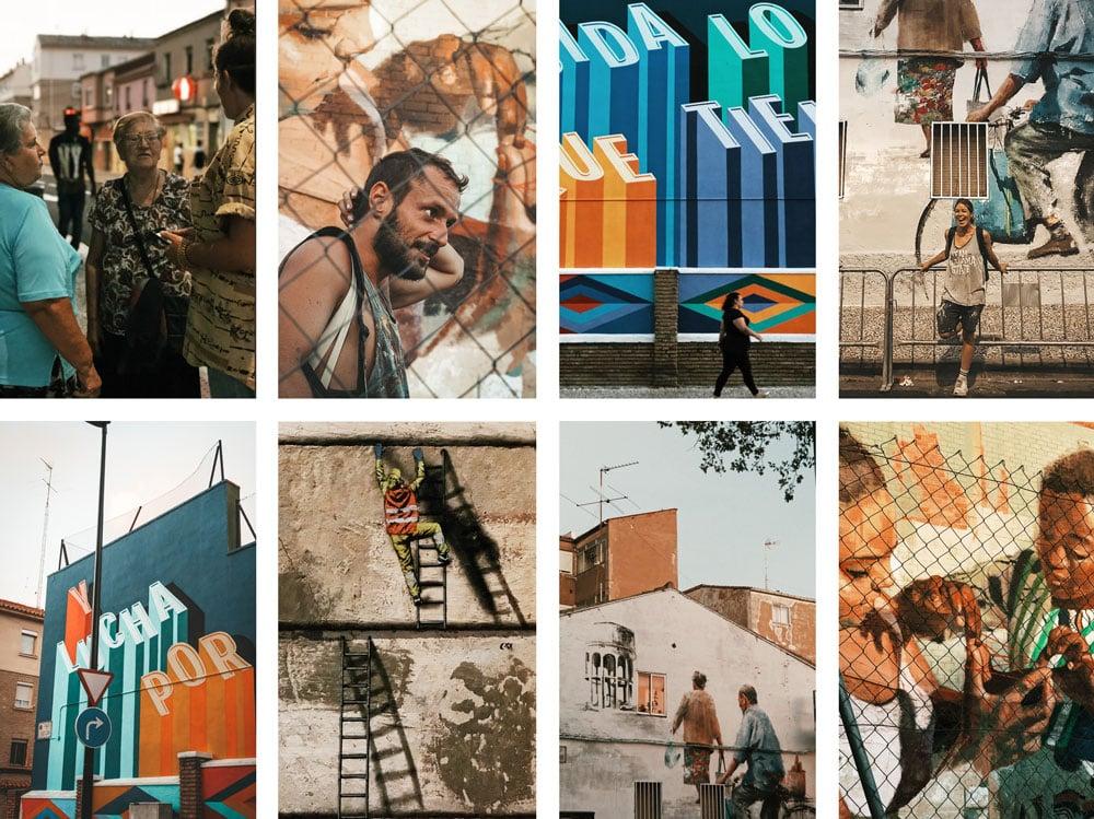 Où trouver les peintures murales du festival Asalto ?