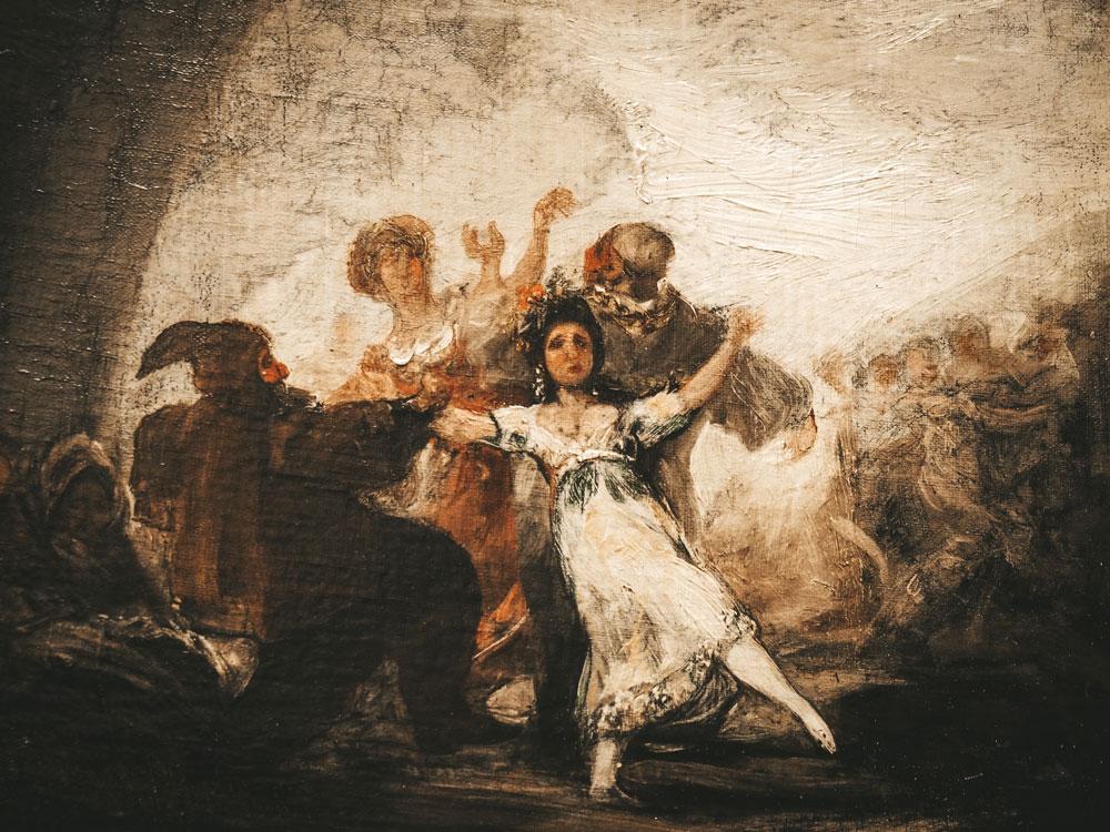 où voir oeuvres de Goya en Espagne Saragosse