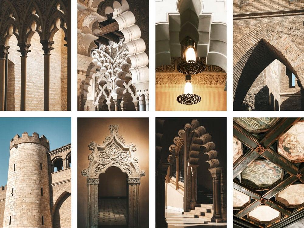 palais espagnol Mudejar Farig de Gali Saragosse