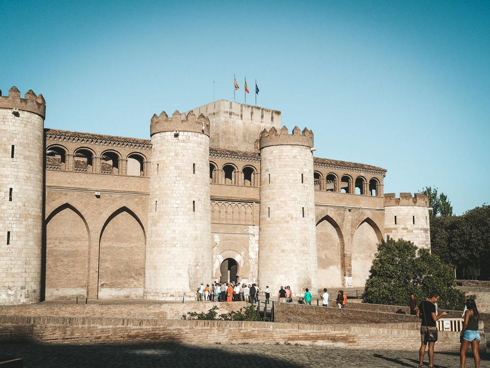 palais musulman Aljaferia visite Saragosse incontournable