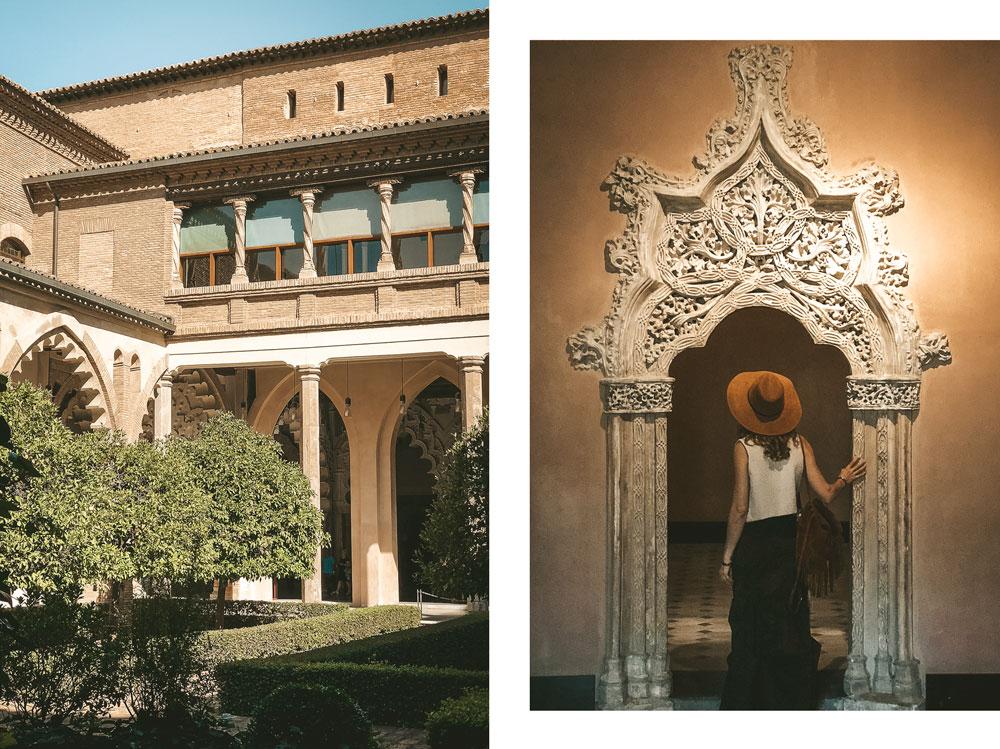 palais Saragosse Aljaferia mudejar art musulman