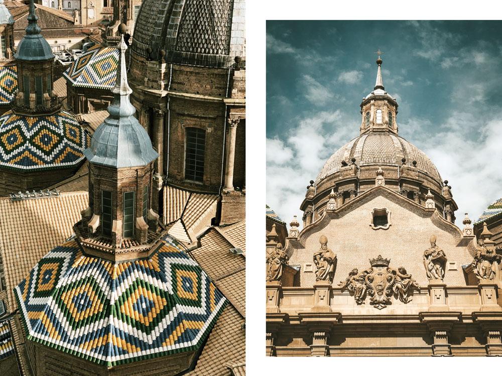 plus grande basilique Espagne basilique du Pilar Saragosse