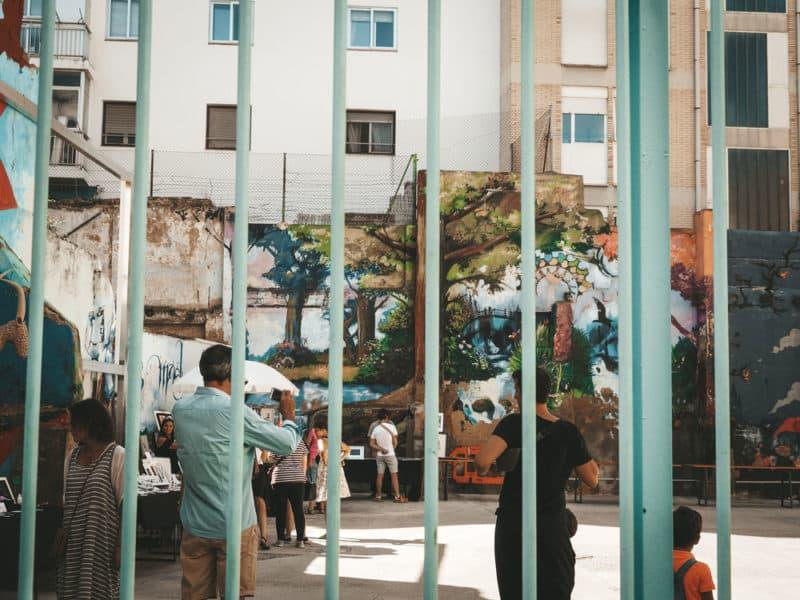 street art quartier San Pablo Saragosse
