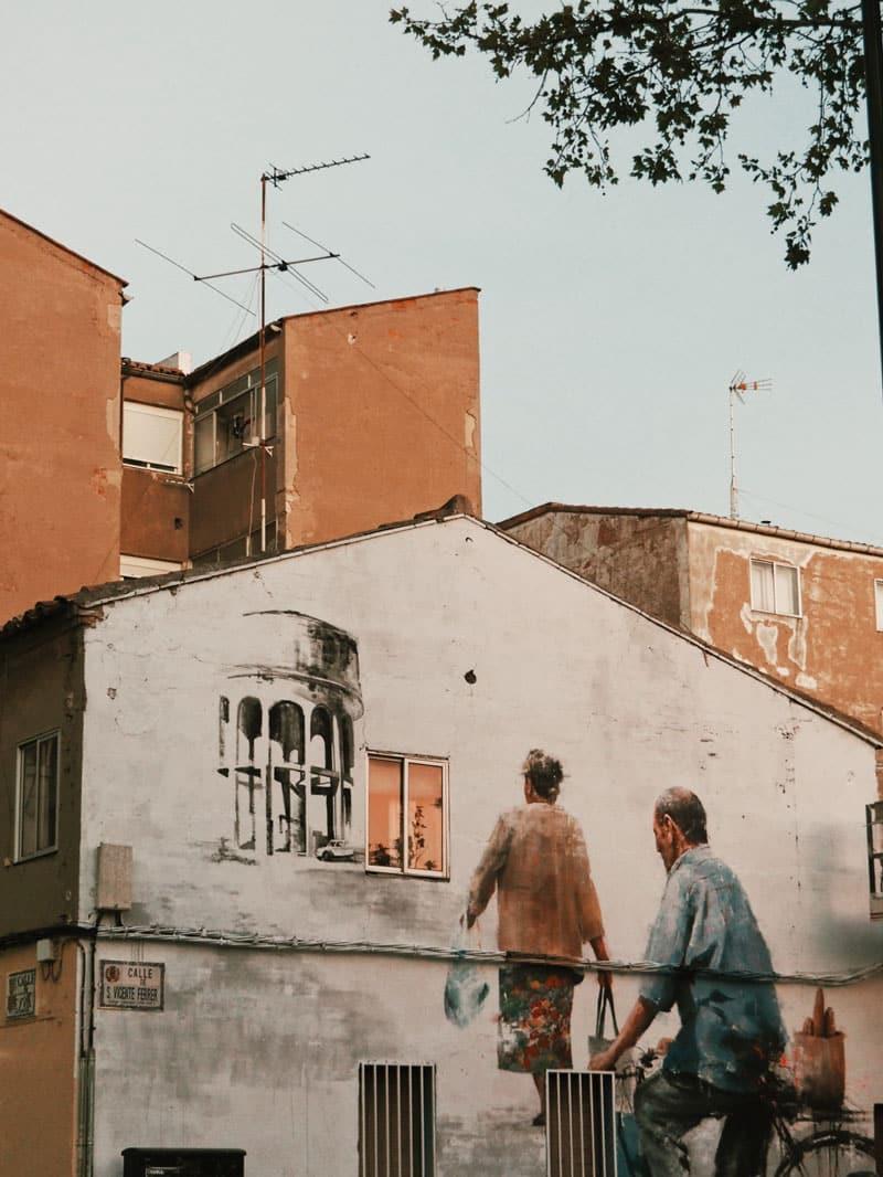 street art Saragosse Udaxto Espagne