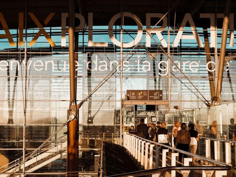 train Aix-en-Provence pour Espagne