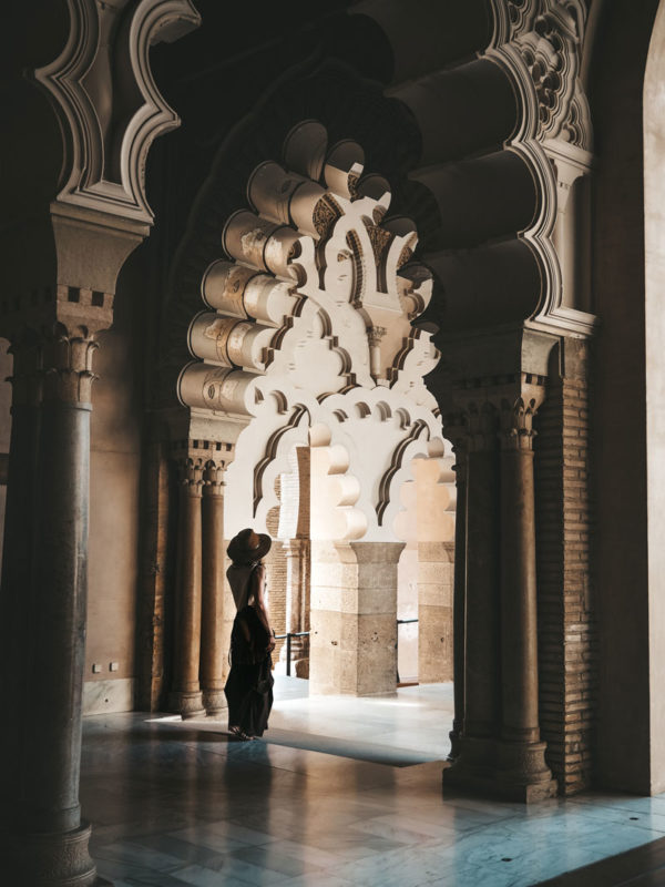 visiter le plus beau palais Saragosse