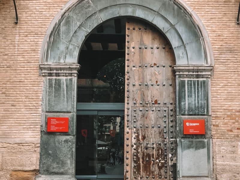 visiter musée Saragosse Pablo Gargallo palais Argillo