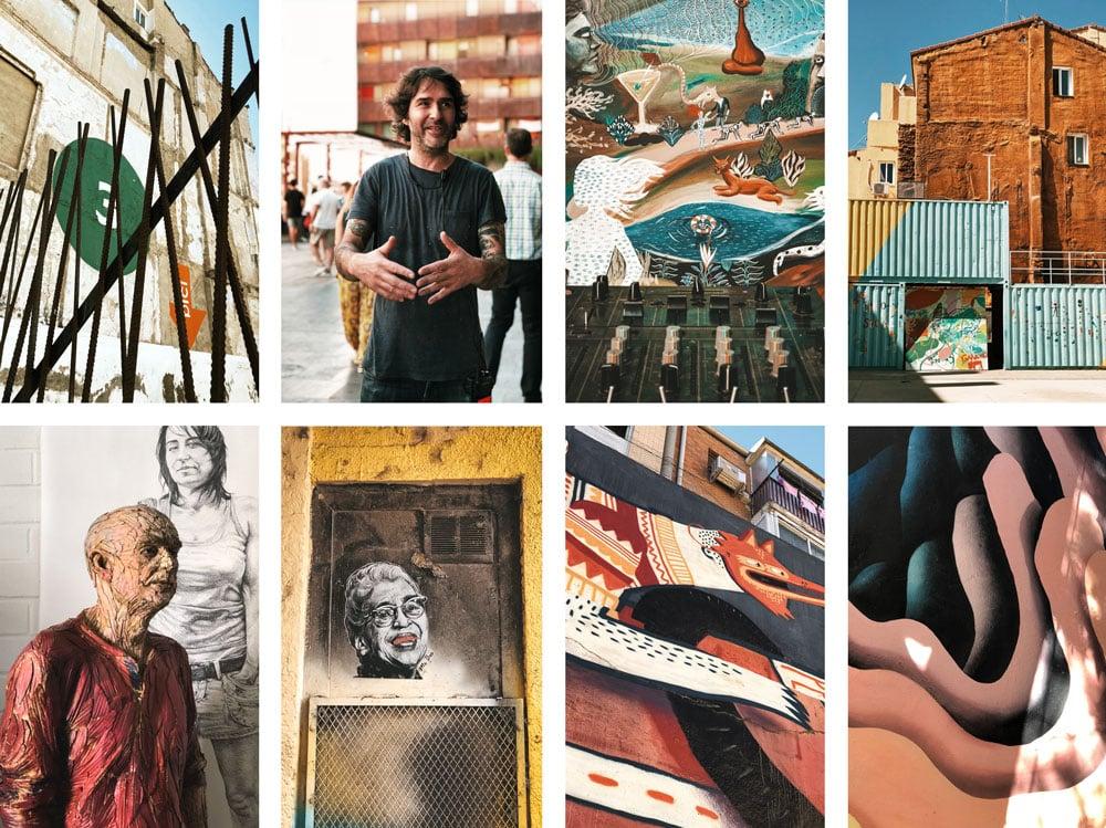 voir street art las armas Saragosse