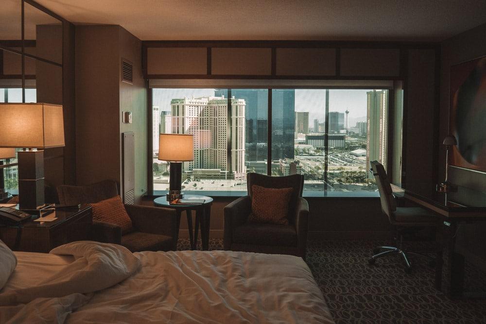 chambre hôtel Las Vegas MGM Grand