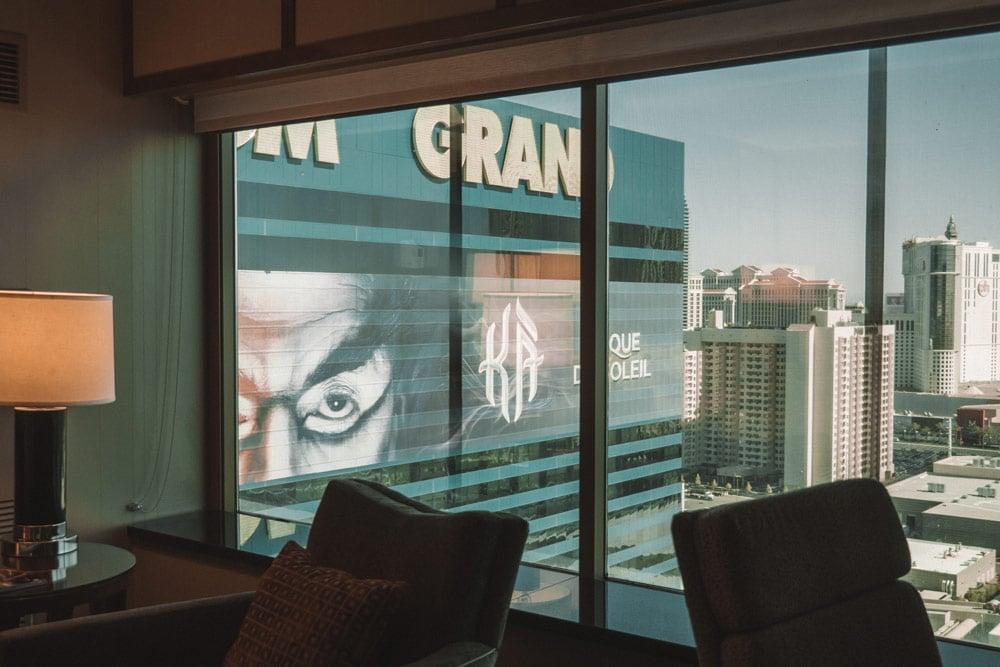 hotel avec spectacle Las Vegas MGM
