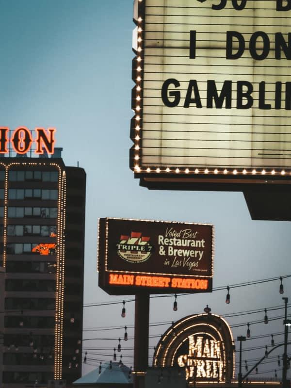 Las Vegas authentique vieilles enseignes