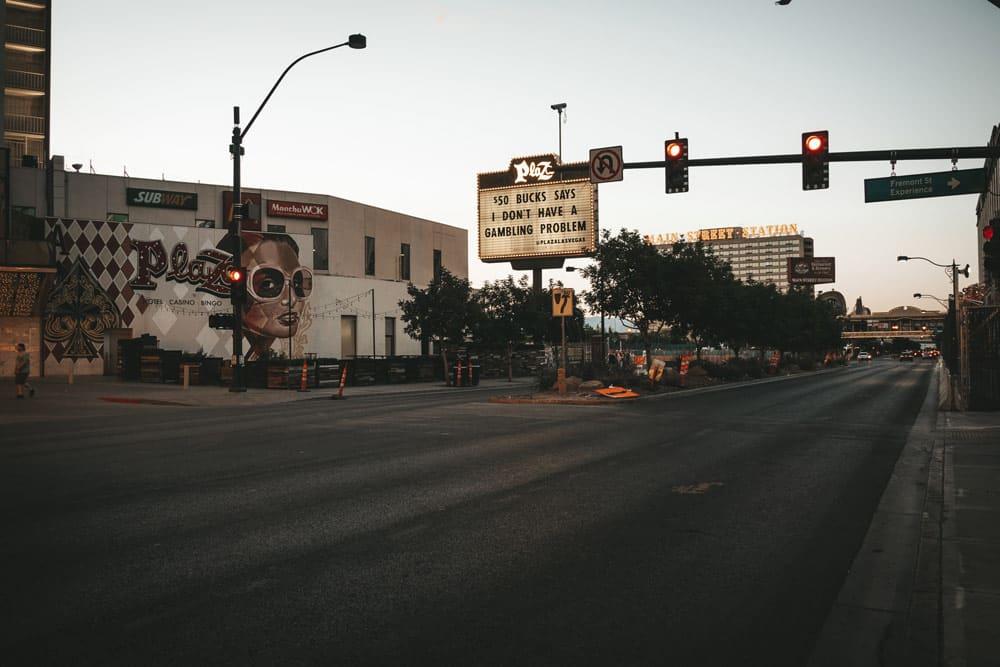 Las Vegas boulevard faire le Strip entier