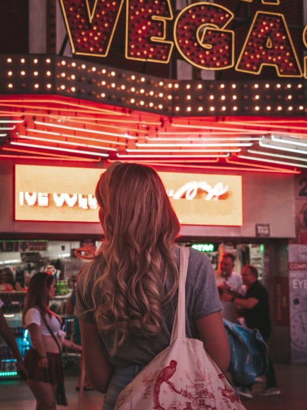 le Strip Las Vegas avec Zoé Bassetto