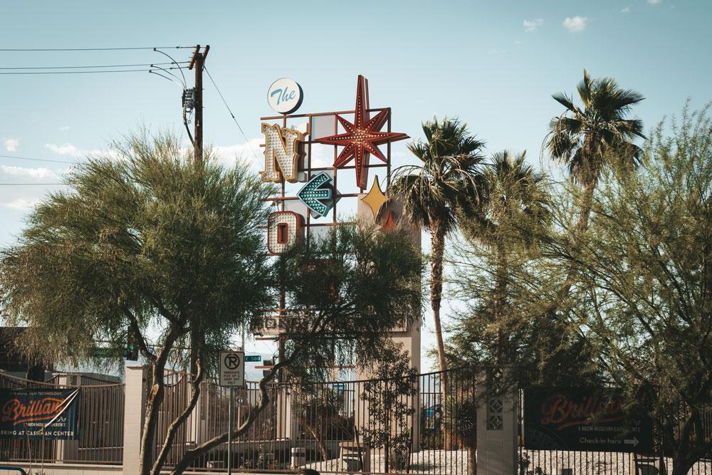 musée des enseignes lumineuses Las Vegas