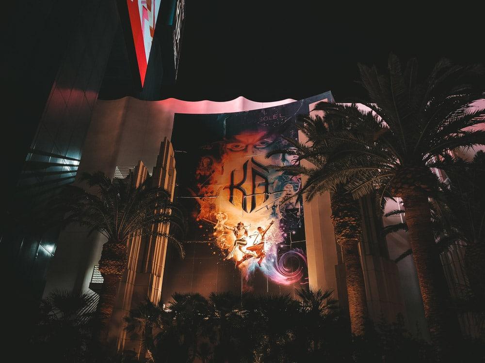 voir un spectacle Las Vegas Cirque du Soleil Ka