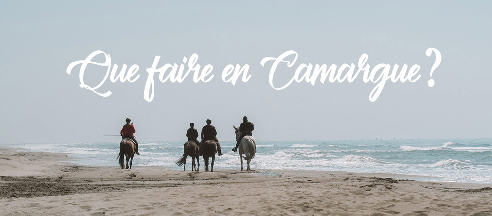 que faire en Camargue vacances ?