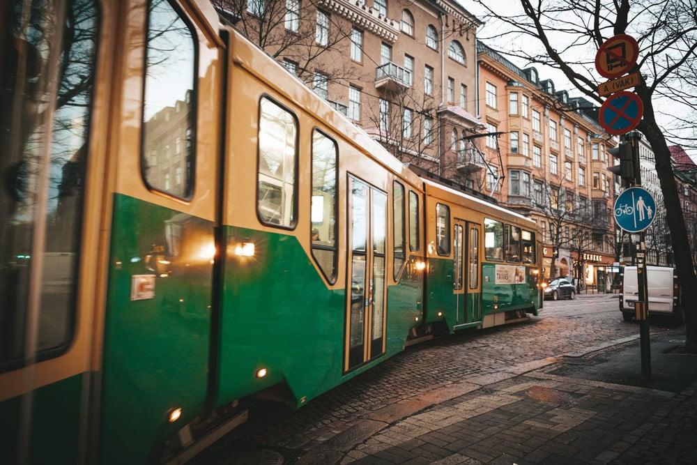 aller voir Huvilakatu rue celèbre Helsinki