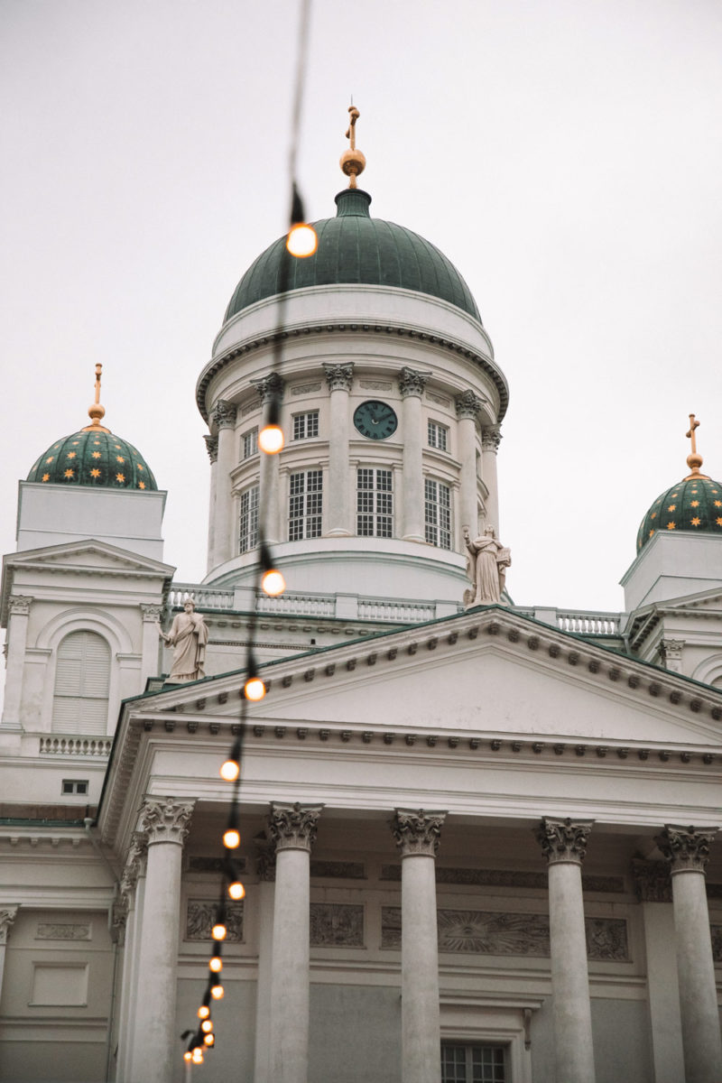 cathédrale Helsinki Finlande