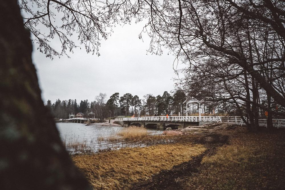 comment aller sur ile Seurasaari Helsinki