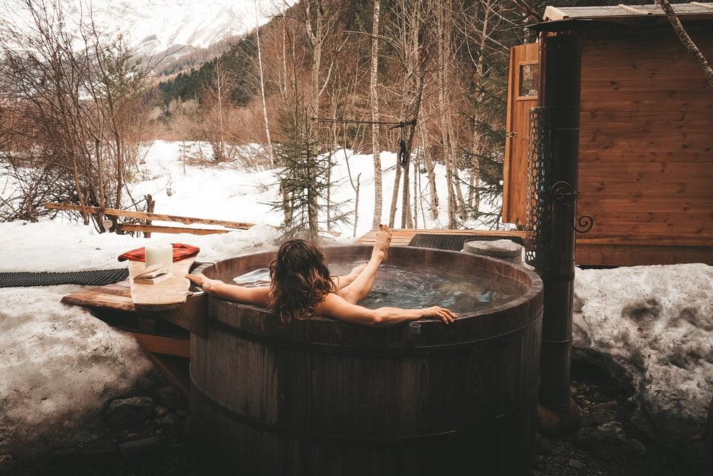 faire un bain nordique Champsaur