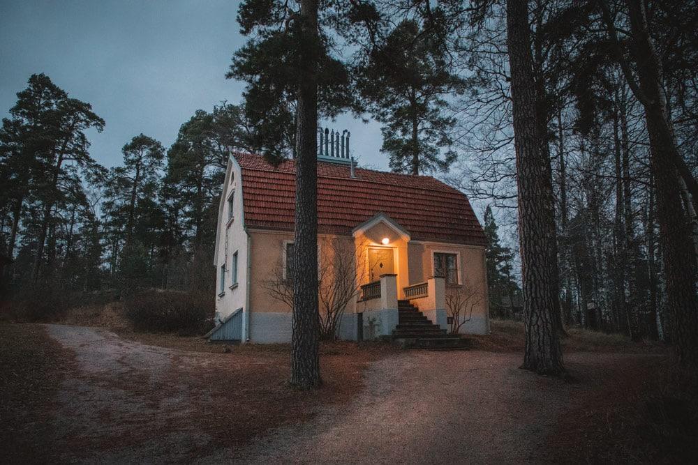 les îles autour de Helsinki cabanes Seurasaari