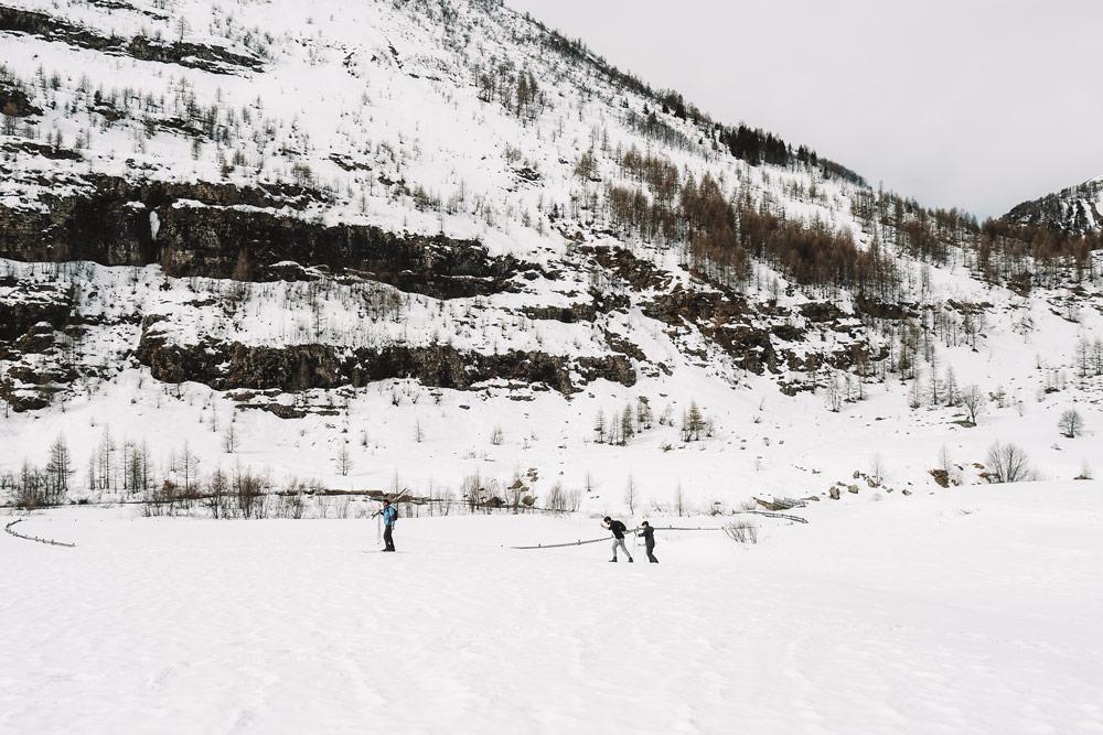 où trouver la neige printemps Champsaur