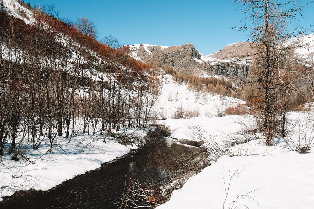 plateau de Prapic ski rando ski nordique
