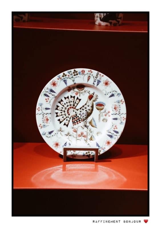 porcelaine Helsinki musée Arabia Design