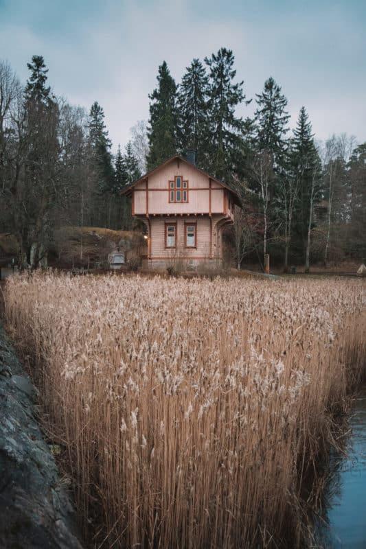 Finlande maison traditionnelle
