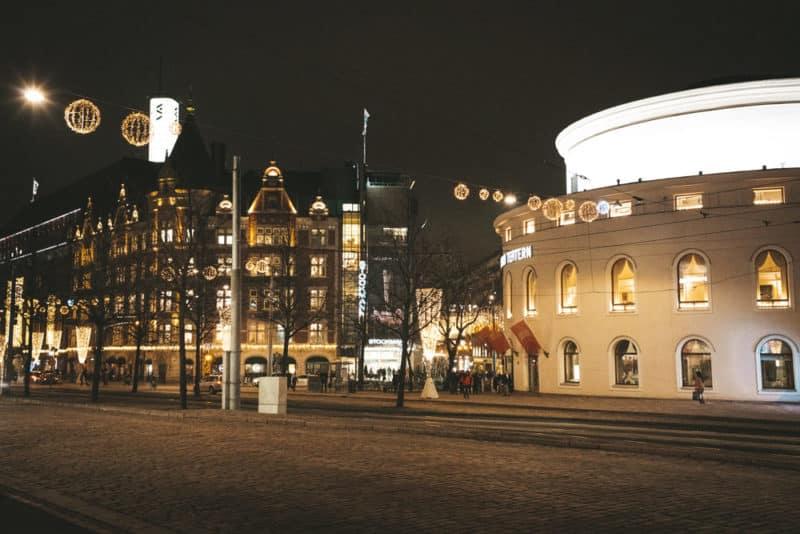 que faire voyage Helsinki sous la pluie