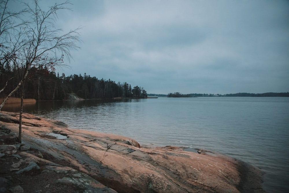 quelles plages Helsinki hiver été