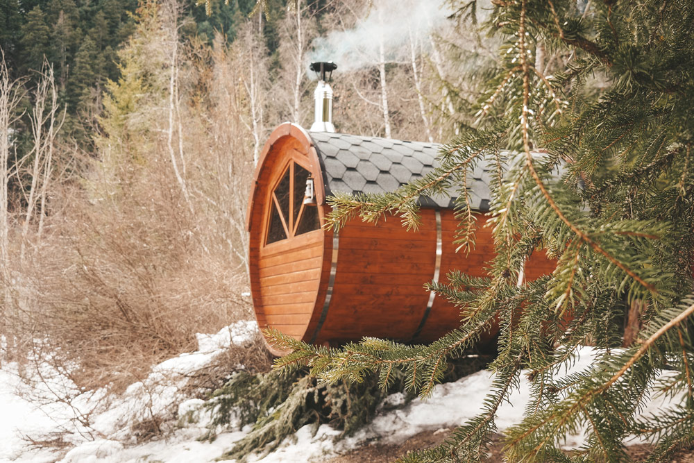 sauna et spa finlandais Champsaur