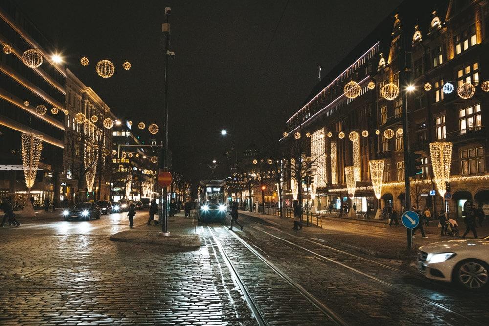 visiter Helsinki la nuit