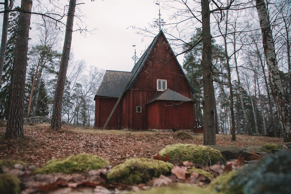 voir des maisons traditionnelles Helsinki Seurasaari