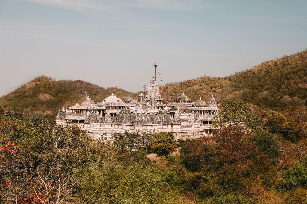 circuit Inde Ranakpur temple Jain Adinath