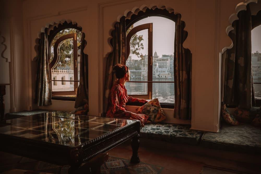 dormir dans un palais indien Rajasthan Udaipur
