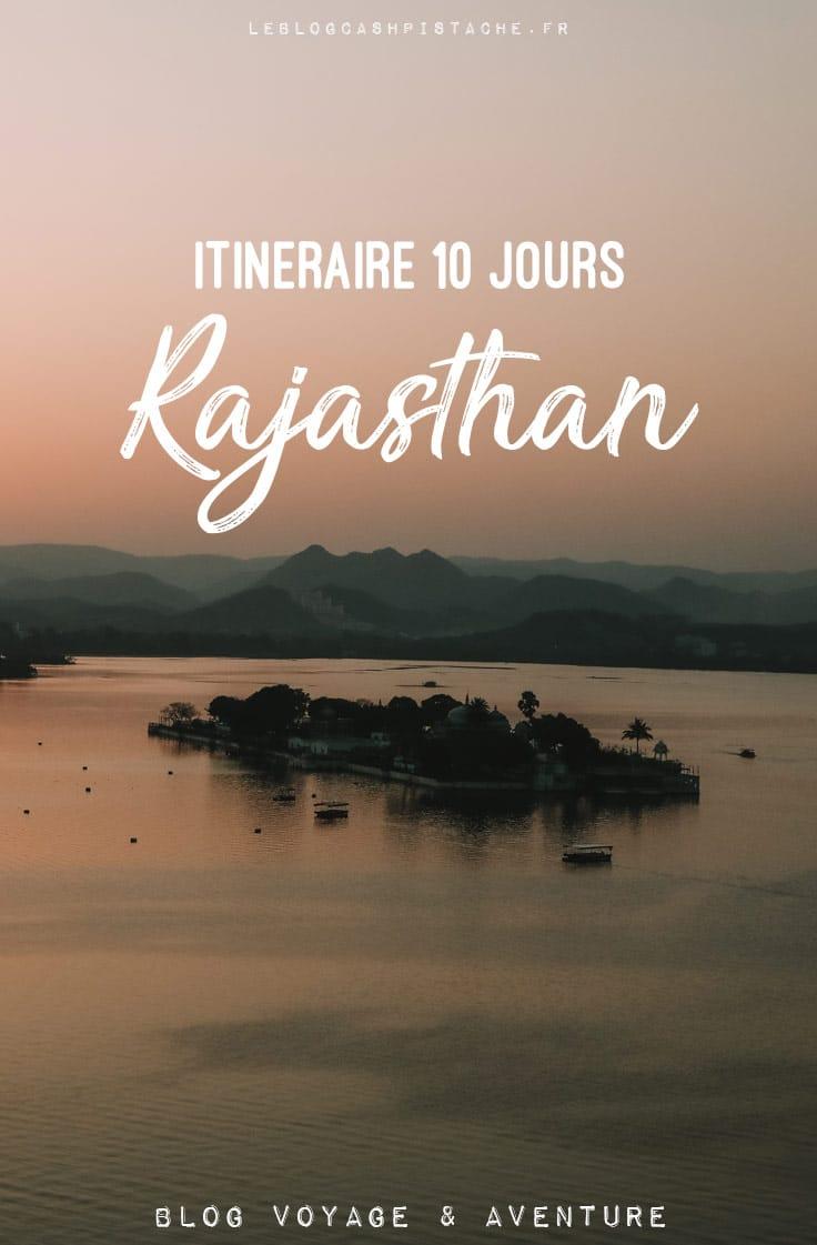 itinéraire 10 jours incontournables Rajasthan